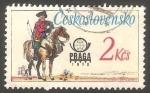 Stamps Czechoslovakia -   2215 - Uniforme de correos austriaco
