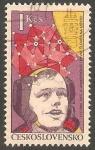 Sellos de Europa - Checoslovaquia -  2241 - Neil Armstrong, astronauta