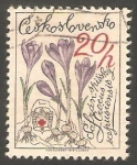 Sellos de Europa - Checoslovaquia -  2329 - Flor crocus