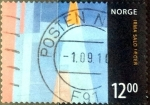 Stamps : Europe : Norway :  Intercambio 4,00 usd 12 krone 200x