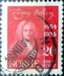 Sellos de Europa - Noruega -  Intercambio maxs 0,25 usd 20 ore 1934