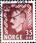 Sellos del Mundo : Europa : Noruega : Intercambio 0,20 usd 35 ore 1950