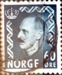 Stamps : Europe : Norway :  Intercambio 0,20 usd 60 ore 1950