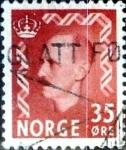 Sellos de Europa - Noruega -  Intercambio 0,20 usd 35 ore 1950
