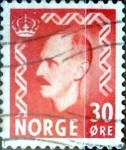 Sellos de Europa - Noruega -  Intercambio 0,20 usd 30 ore 1952
