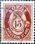 Sellos de Europa - Noruega -  Intercambio maxs 0,20 usd 15 ore 1952