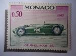 Stamps : Europe : Monaco :  Lotus-Climax 1961