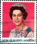 Sellos de Oceania - Nueva Zelanda -  Intercambio 0,20 usd 25 cent. 1985