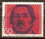 Sellos de Europa - Alemania -  150a Aniv nacimiento de Friedrich Engels 1820-1895,periodista y socialista.