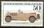 Sellos de Europa - Alemania -  Por el bienestar de la Juventud (Mercedes Car 1913 Touring).