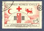 Stamps Chile -  Cincuentenario de Sociedades de Cruz Roja 1919-1969