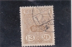 Stamps Japan -  escudo