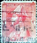 Sellos de Oceania - Nueva Zelanda -  Intercambio 0,20 usd 1 penny 1926