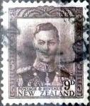 Stamps : Oceania : New_Zealand :  Intercambio 0,20 usd 9 penny 1947