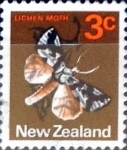 Sellos de Oceania - Nueva Zelanda -  Intercambio aexa 0,20 usd 3 cent. 1970