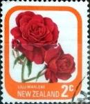 Sellos de Oceania - Nueva Zelanda -  Intercambio aexa 0,20 usd 2 cent. 1975