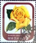 Sellos de Oceania - Nueva Zelanda -  Intercambio aexa 0,20 usd 5 cent. 1975