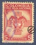Stamps America - Colombia -  Cruz Roja Colombia 1947/48 - Beneficencia
