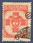 Sellos de America - Colombia -  Cruz Roja Colombia 1947/48 - Beneficencia