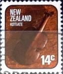Sellos de Oceania - Nueva Zelanda -  Intercambio 0,20 usd 14 cent. 1976