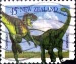 Sellos de Oceania - Nueva Zelanda -  Intercambio dm1g2 0,55 usd 45 cent. 1993