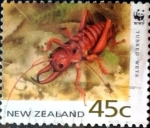 Stamps New Zealand -  Intercambio 1,00 usd 45 cent. 1993