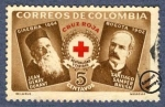 Sellos del Mundo : America : Colombia : Cruz Roja Colombia 1956 - Beneficencia