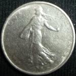 monedas de Europa - Francia -  1965 (Anverso)