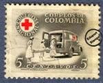 Sellos de America - Colombia -  Cruz Roja Colombia 1958 - Beneficencia