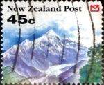 Sellos de Oceania - Nueva Zelanda -  Intercambio crxf 0,85 usd 45 cent. 1992