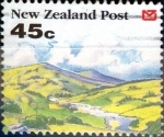 Stamps : Oceania : New_Zealand :  Intercambio crxf 0,85 usd 45 cent. 1992