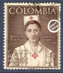 Sellos del Mundo : America : Colombia : Cruz Roja Colombia 1961 - Beneficencia