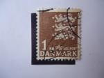 Stamps Denmark -  Escudo de Armas (M/289)