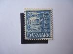 Sellos de Europa - Dinamarca -  Caravela -