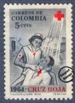 Sellos de America - Colombia -  Cruz Roja Colombia 1965 - Beneficencia