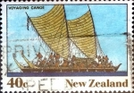 Sellos de Oceania - Nueva Zelanda -  Intercambio aexa 0,55 usd 40 cent. 1990