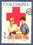 Sellos del Mundo : America : Colombia : Cruz Roja Colombia 1966 - Beneficencia