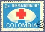 Sellos del Mundo : America : Colombia : Cruz Roja Colombia 1967 - Beneficencia