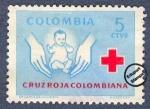 Sellos del Mundo : America : Colombia : Cruz Roja Colombia 1970 - Beneficencia
