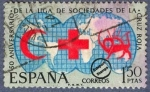 Sellos de Europa - España -  50º Aniversario de la Liga de Sociedades de la Cruz Roja