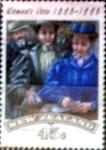 Sellos de Oceania - Nueva Zelanda -  Intercambio 0,50 usd 45 cent. 1993