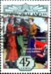 sello : Oceania : Nueva_Zelanda : Intercambio crf 0,50 usd 45 cent. 1993