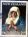 sello : Oceania : Nueva_Zelanda : Intercambio crf 0,20 usd 2,5 p. 1962