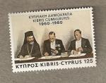 Stamps Asia - Cyprus -  Firma tratado