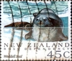 Stamps : Oceania : New_Zealand :  Intercambio 0,60 usd 45 cent. 1992