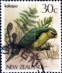 Sellos de Oceania - Nueva Zelanda -  Intercambio 0,20 usd 30 cent. 1985