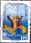 Stamps : America : Panama :  Intercambio cxrf 0,20 usd 17 cent. 1975