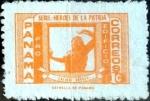 Stamps : America : Panama :  Intercambio cxrf 0,20 usd 1 cent. 1974