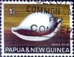 Sellos del Mundo : Oceania : Papúa_Nueva_Guinea : Intercambio aexa 0,20 usd 1 cent. 1968