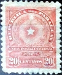 Stamps : America : Paraguay :  Intercambio 0,20 usd 20 cent. 1913